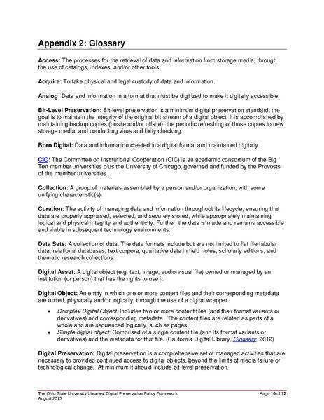 File Osul Digital Preservation Policy Framework Pdf Libopedia